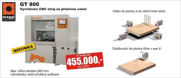 CNC vrtací stroj GT 800
