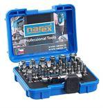 Narex 37dílná sada šroubovacích bitů a ořechů industrial-crv