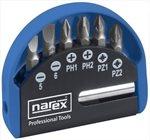 Narex 7dílná (kapesní) sada šroubovacích bitů industrial-crv 65404058