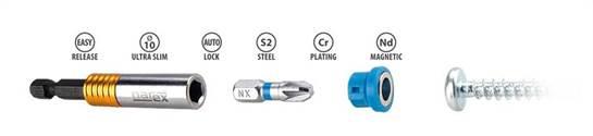 Novinka - bity a magnetické nástavce SUPER LOCK