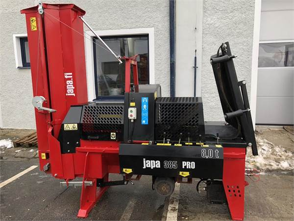 Japa Řezací a štípací automat 385, varianta pro - použitý stroj 95043