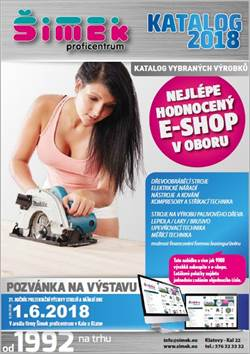 Katalog ŠIMEK proficentrum 2018 jaro/léto