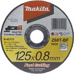 Makita Řezný kotouč na kov, 125 x 0.8 x 22.23 mm