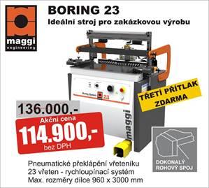 Klasické vícevřetenové kolíkovačky - BORING 23