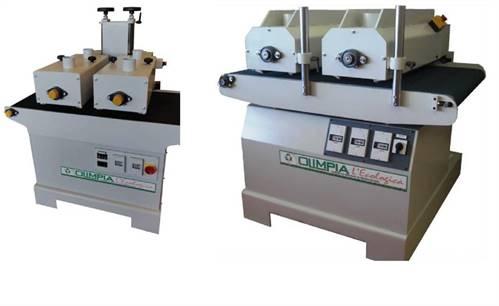 Kartáčovací brusky OLIMPIA řady 300/400/600/800/1200