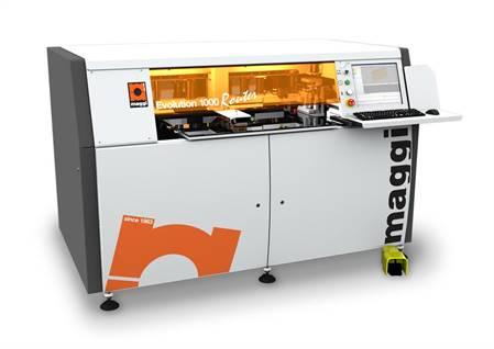 Maggi CNC vrtací a frézovací stroj Evolution