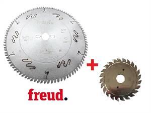 Freud Sada pilového kotouče LU3D 350 + předřez LI16M 100