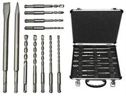 Bosch Sada 11 kusů vrtáků do kladiv a sekáčů SDS plus-3