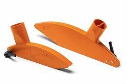 Dribex Kryt pilového kotouče - průměr připojení 60 a 40mm (oranžový)