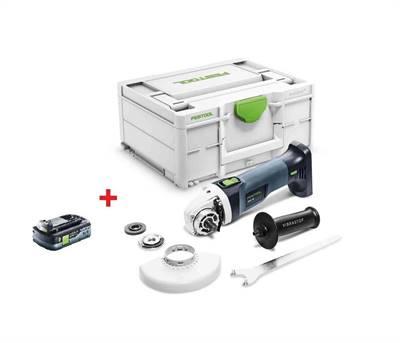 Festool AKU úhlová bruska AGC 18-125 EB-Basic + baterie zdarma PROMO 2021