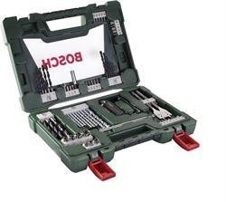Bosch 68dílná sada vrtáků a bitů V-Line se zavíracím nožem, teleskopickým magnetem a úhlovým šroubovákem