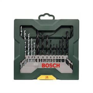 Bosch 15dílná sada vrtáků Mini-X-Line mix