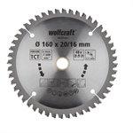 Wolfcraft pilový kotouč jemné řezy ø160×20,16 Z48