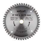 Wolfcraft pilový kotouč jemné řezy ø165×20,16 Z48