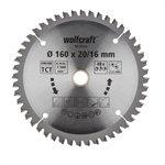 Wolfcraft pilový kotouč jemné řezy ø190×30 Z56